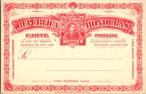Honduras, Worldwide Government Postal Card