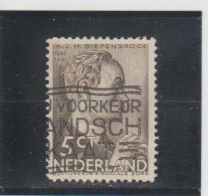 Netherlands  Scott#  B78  Used  (1935 A.J.M. Diepenbrock)