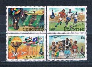 Lesotho 292-95 Used Olympics 1980 (HV0005)