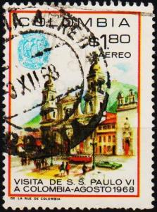 Colombia. 1968 1p80 S.G.1231 Fine Used
