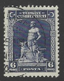 Turkey #691 Used Single Stamp