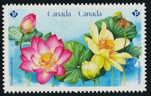 Canada 3091i MNH Flowers, Lotus