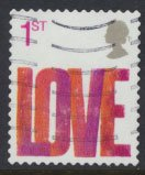 Great Britain SG 2569  SC# 2316  Used Smilers Booklet Love