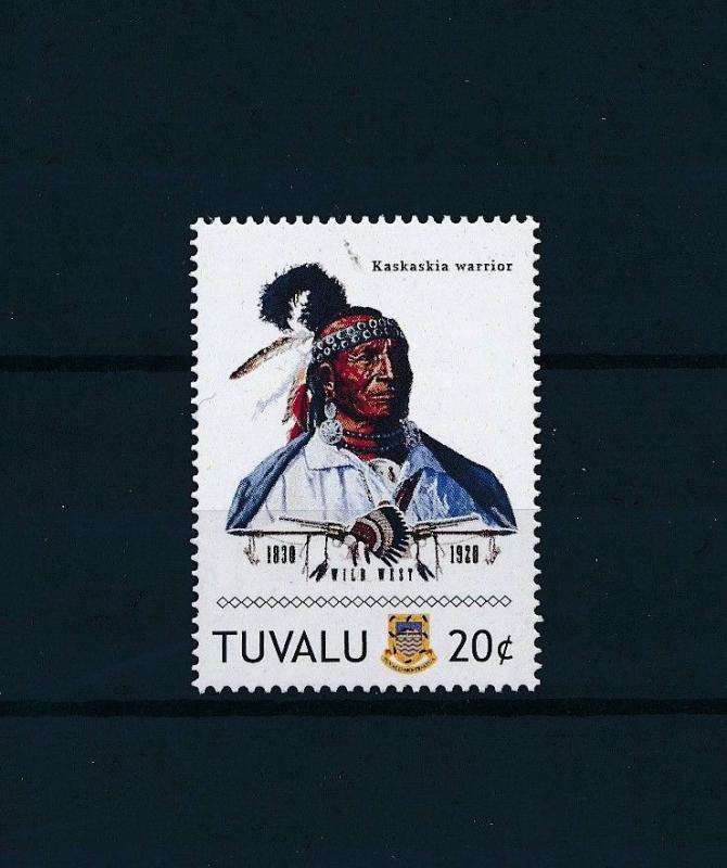[80904] Tuvalu 2011 Native Americans Indians Kaskaskia Warrior MNH