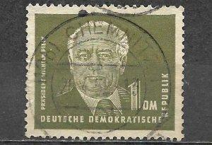 Germany DDR Stamp Used 1 Mark Wilhelm Pieck
