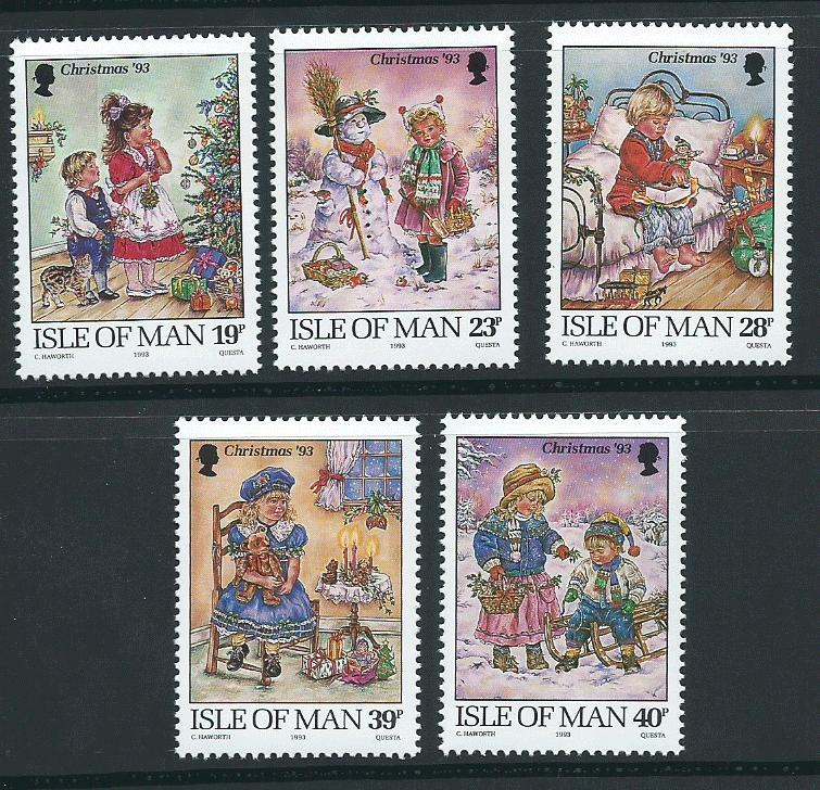Isle of Man MUH SG 578 - 582