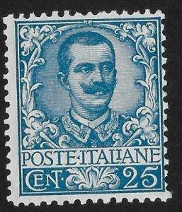Rare(No Toning On Back) Italy 1901 Watermark Mint No Gum - Guaranteed Genuine