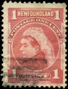 Newfoundland Scott #79 Used