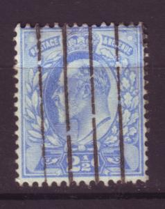 J19684 Jlstamps 1902-11 great britain used #131 king