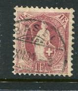Switzerland #87a Used  Accepting Best Offer