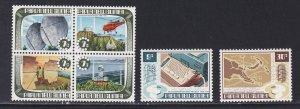Papua New Guinea # 362a, 363-364, Telecommunications, NH, 1/2 Cat.,