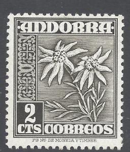 Andorra 1951 #37 MLH