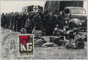 63467 -  BELGIUM - POSTAL HISTORY: MAXIMUM CARD 1975 -  MILITARY    WWII