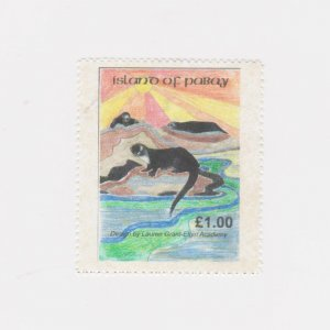 PABAY, British Local - 2003 - Otter, by Lauren Grant - Perf MNH Single Stamp
