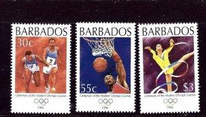 Barbados 914-16 MNH 1986 Partial Set    (ap3673)