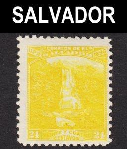 El Salvador Scott 170I unwtmk F+ mint OG HH 1st issue.
