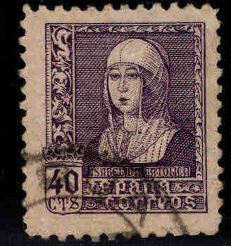 SPAIN Scott 675 Used Queen Isabela stamp