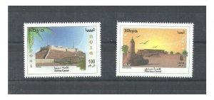 2014 - Libya - Castels of Libya - Shebha Castle & Murzuq Castle- Desert -Birds