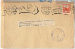 69028 - LATVIA - POSTAL HISTORY -  POSTMARK on cover FRONT 1936 - MAPS