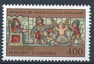 French Andorra SC# 420 MNH SCV $1.50