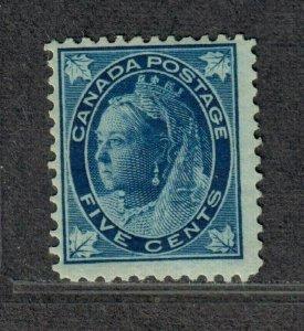 Canada Sc#70 M/H/F, Cv. $175
