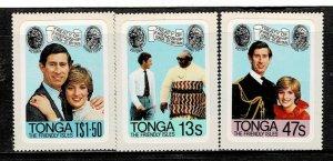 Tonga 1981 Royal Wedding MNH