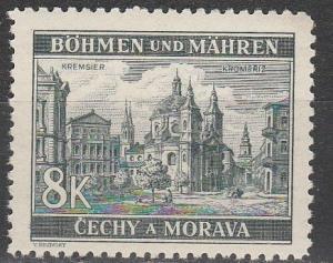 Czechoslovakia Bohemia & Moravia #46 MNH