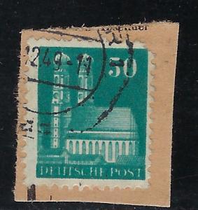 Germany AM Post Scott # 653, used, opp