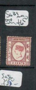 LABUAN (P1811B)  QV CAMEO ISSUE 2C  SG   39    MOG