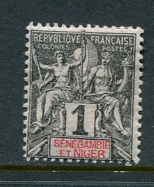 Senegambia & Niger #1 Mint