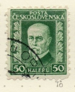 Czechoslovakia 1926-27 Issue Fine Used 50h. NW-148572