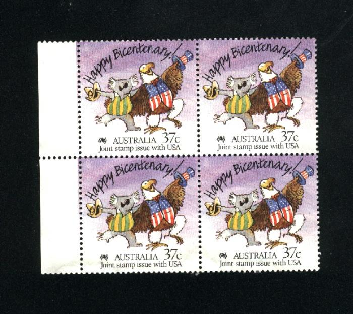 Australia block used  PD