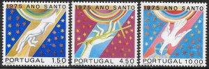 Portugal 1250-1252 Unused/Hinged -  Holy Year - 1975