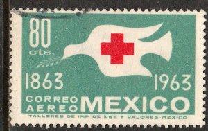 MEXICO C277, Centenary International Red Cross. Used. VF.  (1156)