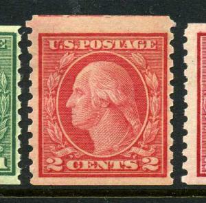 Scott #454 Washington Mint Coil Stamp NH (Stock#454-33)