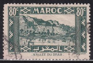 Fr Morocco 163a Hinged 1942 Valley of Draa