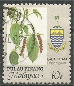 PENANG, 1986, used 10c, Agriculture Scott 91