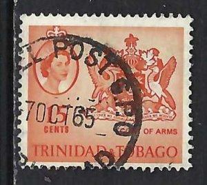 TRINIDAD & TOBAGO 116 VFU ARMS V245-3