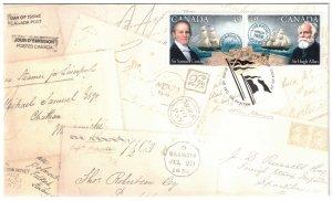 CANADA FDC Pioneers of Transatlantic Mail SC2041-2042