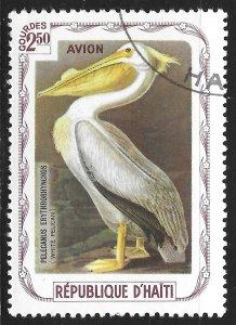 Haiti #not listed 2.50g Birds - Pelican ~ CTO