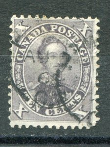 Canada #17a  Used violet  F-VF +  Lakeshore Philatelics