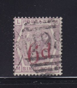 GB Scott # 95 F-VF used neat cancel ( SG # 162 ) nice color cv $ 140 ! see pic !