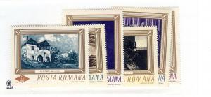 Romania, 1859-64, Paintings Singles, MNH