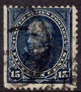 US Stamp #274 15c Clay USED SCV $17.50