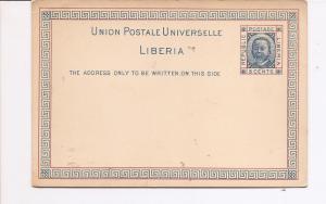 Liberia 3c Postcard unused (bag)