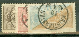 Sweden O1-10 used CV $750.50, scan shows only a few