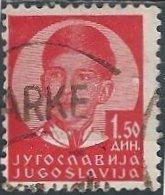 Yugoslavia 120 (used) 1.50d King Peter II, scarlet (1935)