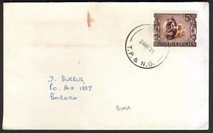 PAPUA NEW GUINEA 1970 cover ex BUKA........................................74185