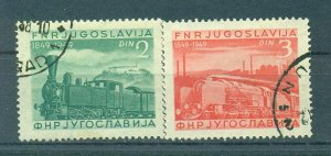 Yugoslavia  sc# 269-272 used  cat value $30.00