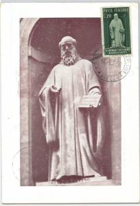 59157 -  ITALY - POSTAL HISTORY: MAXIMUM CARD 1950 - MUSIC Guido of Arezzo